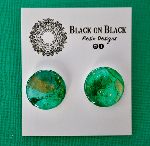 Ink Earring 25mm J47