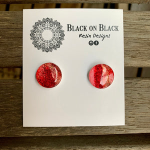 Ink Earring 15mm N#4