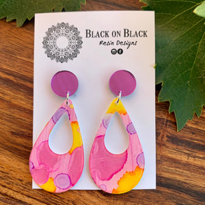 Ink Earring #30