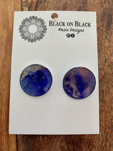 Ink Earring 25mm A12