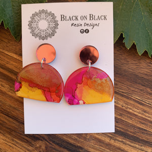 Ink Earring #51