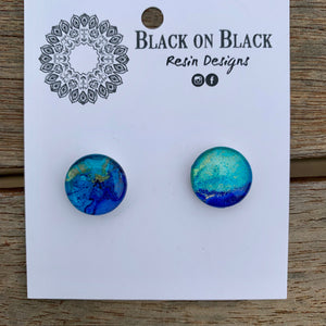 Ink Earring 15mm #24