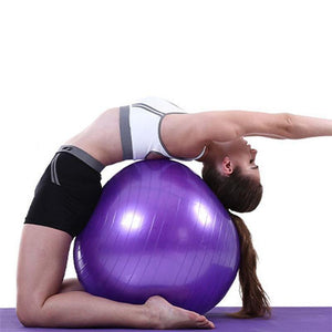 35cm Yoga Exercise Ball - And Above All...YOGA