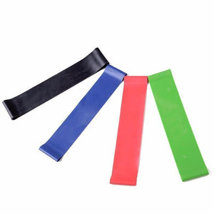 4PC Set Elastic Resistance Bands - And Above All...YOGA