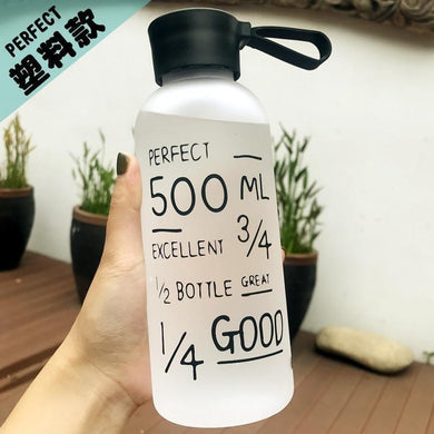 600ML Portable Plastic Water Bottles Water Bottles