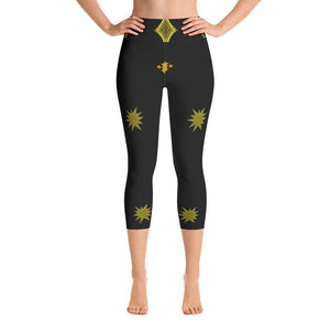 """Altered Space"" Capri Yoga Pants - And Above All...YOGA"
