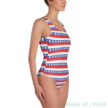 """America"" One-Piece Swimsuit - And Above All...YOGA"