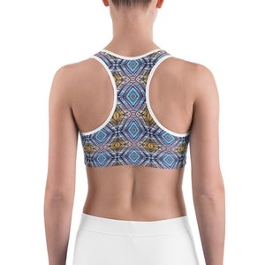 """Atrium View"" Deluxe, Made to Order Sports bra - And Above All...YOGA"