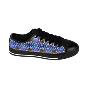 """Atrium View"" Deluxe Women's Sneakers - And Above All...YOGA"