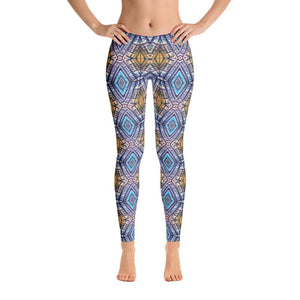 """Atrium View"" Standard Yoga Pants Fitness Wear, yo"