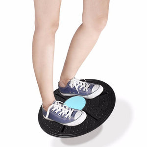 Balance Board with 360 Degree Rotation - And Above All...YOGA