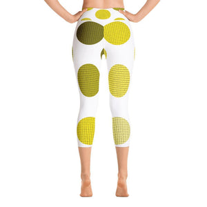"""Balls"" Capri Yoga Pants - And Above All...YOGA"
