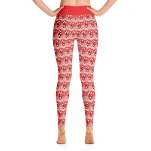 """Candy Cane Fantasy"" Deluxe, Made to Order Yoga Pants - And Above All...YOGA"