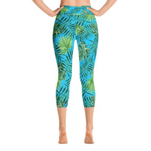 """Canopy"" Capri Yoga Pants - And Above All...YOGA"