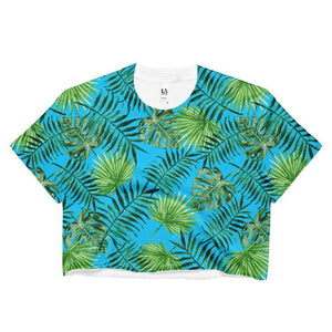 """Canopy"" Women's Crop Top - And Above All...YOGA"
