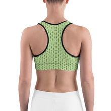 """Christmas Tree Fantasy"" Deluxe, Made to Order Sports Bra - And Above All...YOGA"