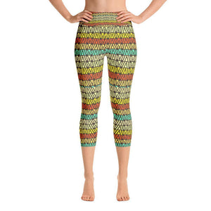 """Circa 1968"" Capri Cut Yoga Pants - And Above All...YOGA"