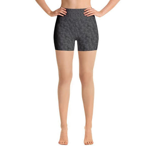 """Circles"" Yoga Shorts - And Above All...YOGA"