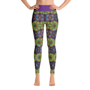 """Colliding Galaxies"" Deluxe Yoga Pants - And Above All...YOGA"