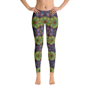 """Colliding Galaxies"" Standard Yoga Pants - And Above All...YOGA"