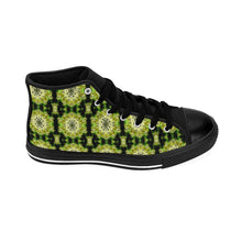 """Concentration"" Deluxe Women's High-top Sneakers - And Above All...YOGA"