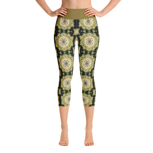 """Concentration"" Made to Order Deluxe Yoga Capris - And Above All...YOGA"