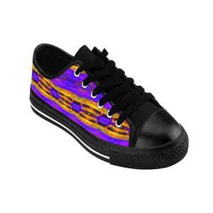 """Crayons"" Deluxe Women's Sneakers - And Above All...YOGA"
