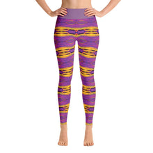 """Crayons"" Made to Order Deluxe Yoga Pants - And Above All...YOGA"