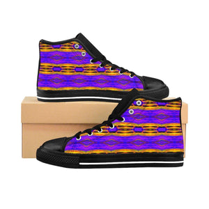 """Crayons"" Women's High-top Sneakers - And Above All...YOGA"