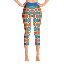 """Dancing Dragons"" Deluxe Capri Yoga Pants - And Above All...YOGA"