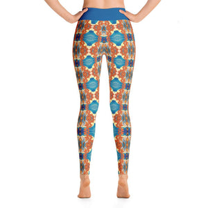 """Dancing Dragons"" Deluxe Yoga Pants - And Above All...YOGA"