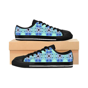 """Delftlike Mandala"" DeluxeWomen's Sneakers - And Above All...YOGA"