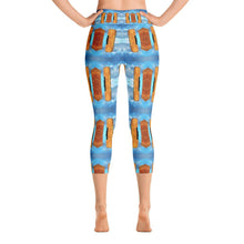 """Dreaming of Pompeii"" Capri Yoga Pants - And Above All...YOGA"