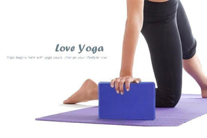 EVA Yoga Block No. 324 - And Above All...YOGA