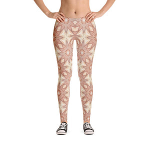 """Fall Garden Fantasy"" Standard, Made to Order Yoga Pants - And Above All...YOGA"