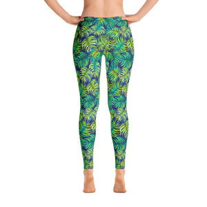"""Ferns"" Yoga Pants - And Above All...YOGA"