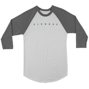 Fitness 3/4 Raglan Baseball Shirts - And Above All...YOGA