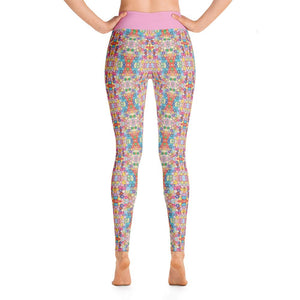Floral Riot Deluxe, Made to Order Yoga Pants - And Above All...YOGA