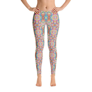 """Floral Riot"" Standard, Made to Order Yoga Pants - And Above All...YOGA"