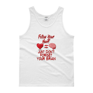 """Follow Your Heart"" Classic Men's Tank top - And Above All...YOGA"