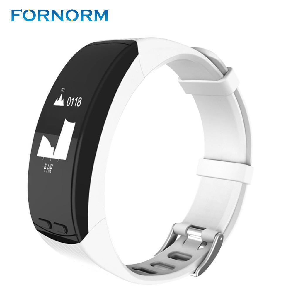 FORNORM LED Fitness Tracker - And Above All...YOGA