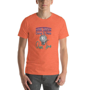 """Good Things"" Short-Sleeve Unisex T-Shirt - And Above All...YOGA"