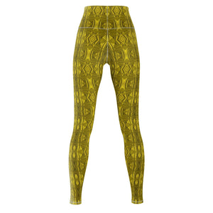 Hammered Gold Yoga Pants - And Above All...YOGA