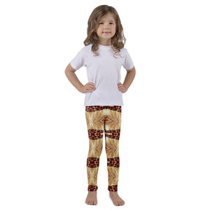 """Heart of Gold"" Kids Yoga Pants - And Above All...YOGA"