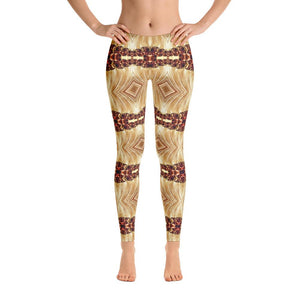 """Heart of Gold"" Yoga Pants - And Above All...YOGA"