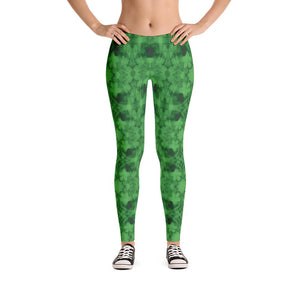 """How Green Was My Valley"" Standard Made to Order Yoga Pants-Fitness Wear, yoga pants, $30-$50-And Above All...YOGA"