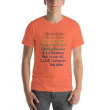 I Can't Complain Short-Sleeve Unisex T-Shirt - And Above All...YOGA