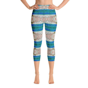 """Imagination"" Capri Yoga Pants - And Above All...YOGA"