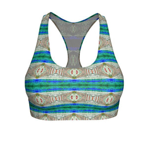 """Imagination"" Cut & Sew Sports Bra - And Above All...YOGA"