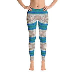 """Imagination"" Yoga Pants - And Above All...YOGA"